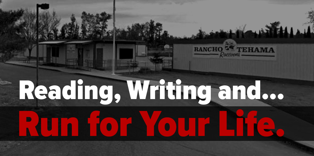 Reading, Writing and… Run for Your Life.